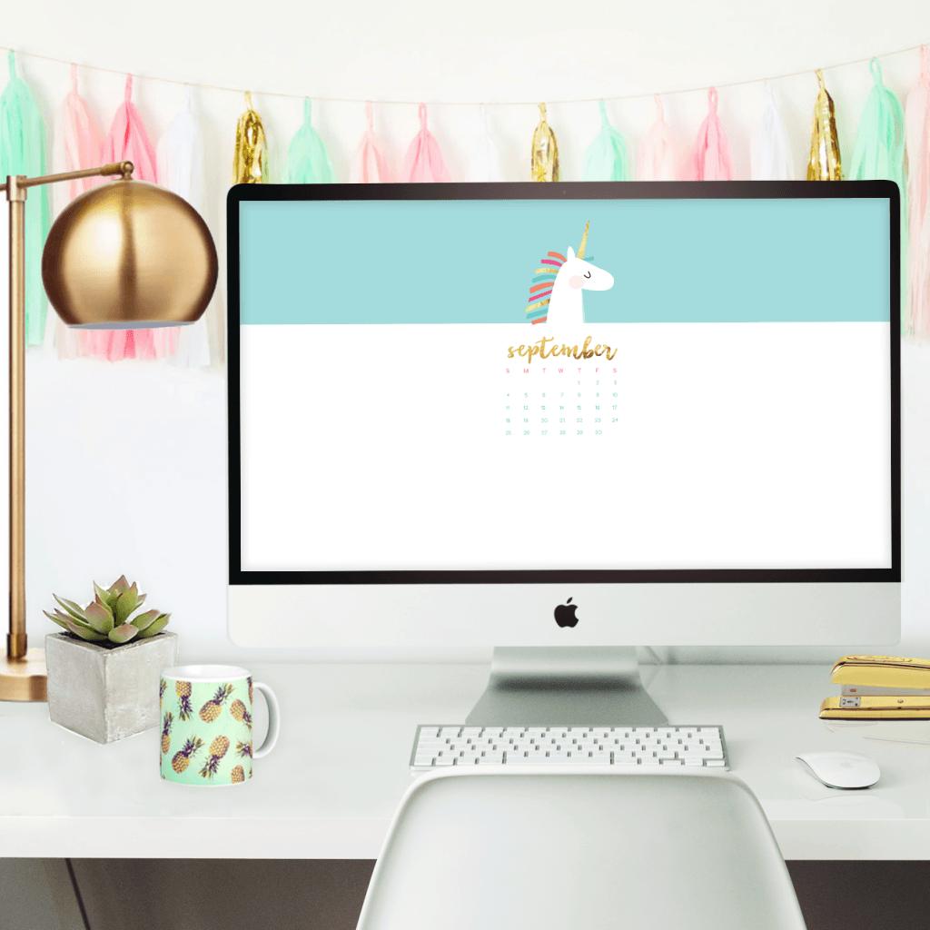 4 cute and Free September Desktop Wallpaper Calendars | Wallpaper ...