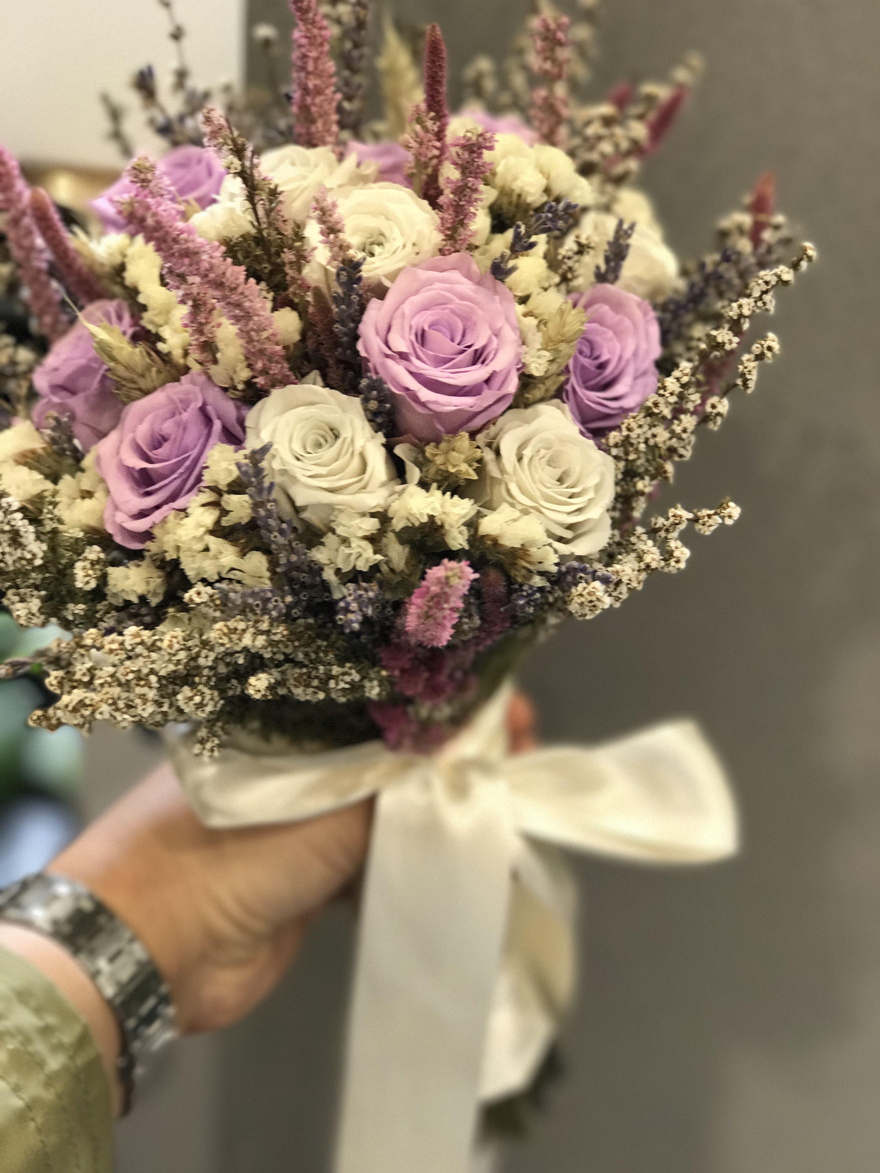 Dried Flowers Bridal Bouquets Kurutulmus Gelin Buketi Bouquets