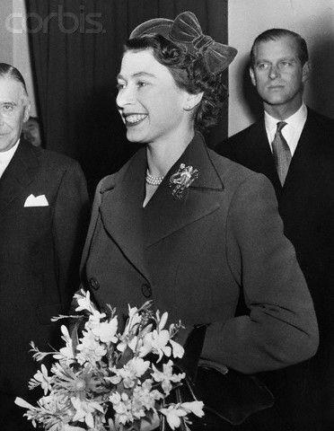 Queen Elizabeth, December 13, 1955