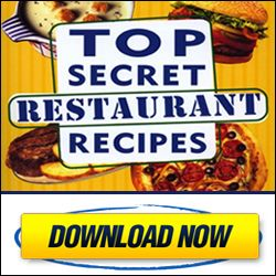 Top Secret Restaurant Recipes Related Keywords & Suggestions - Top