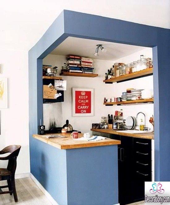small kitchen design 2016 15 Smart Small Kitchen Design Ideas small kitchen design small-kitchen-design