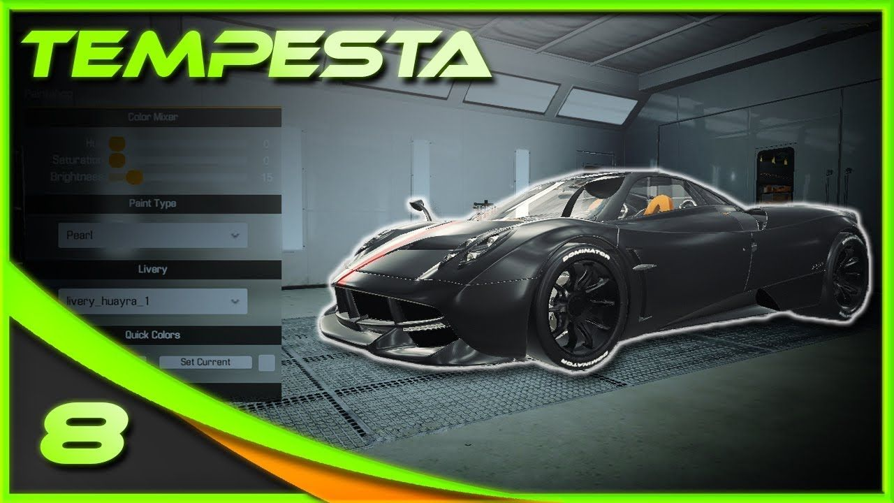 Black Knight Pagani Huayra Tempesta Car Mechanic Simulat 2018 Car Mechanic Car Pagani