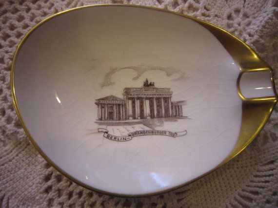 Wonderful Souvenir Ashtray Lindner Bavaria by Fleagleeattic #vogueteam