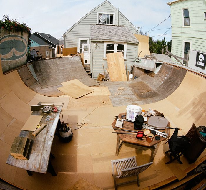 how to make a small half pipe