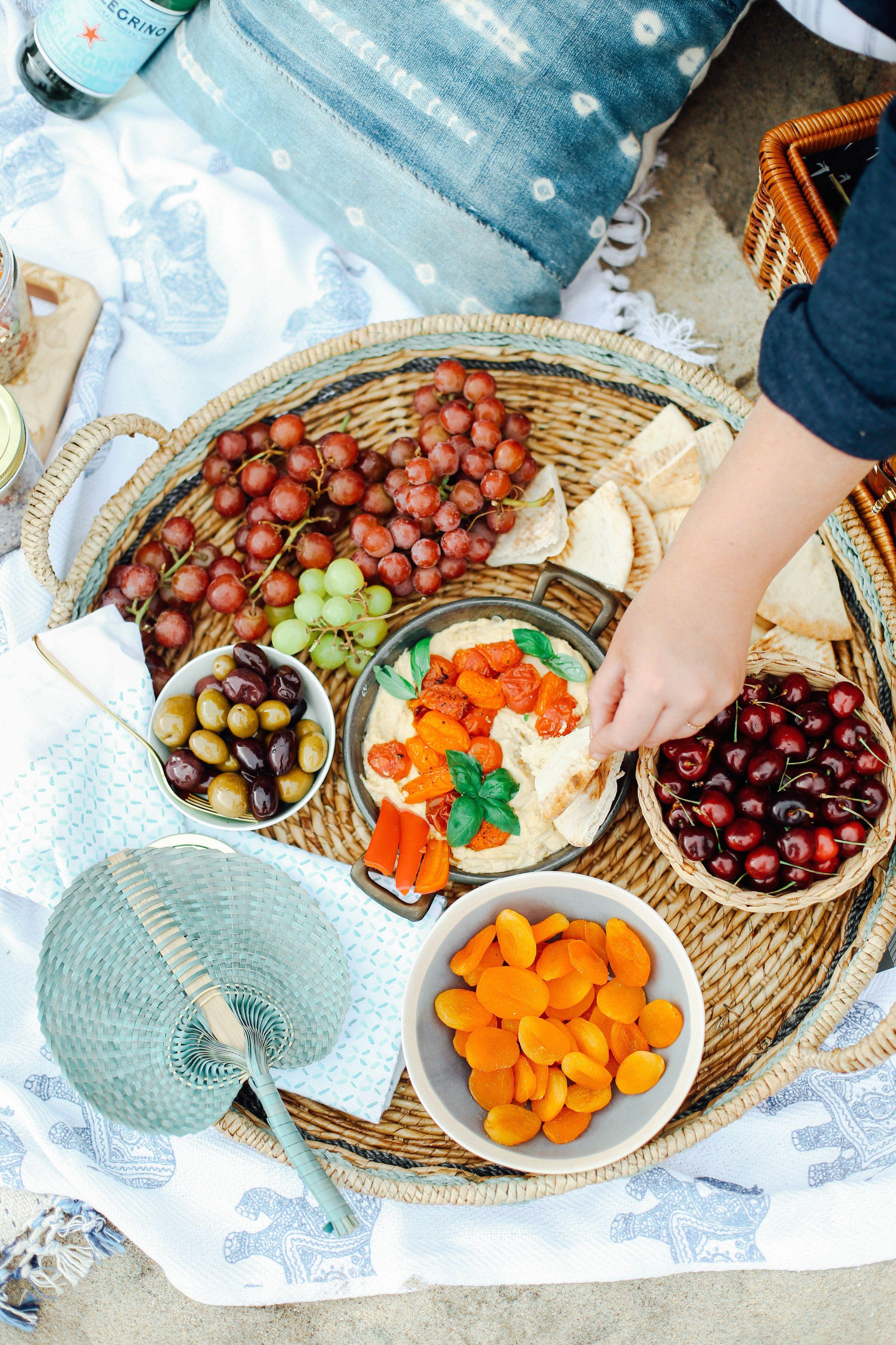 mediterranean inspired beach picnic | pinterest | pita pockets