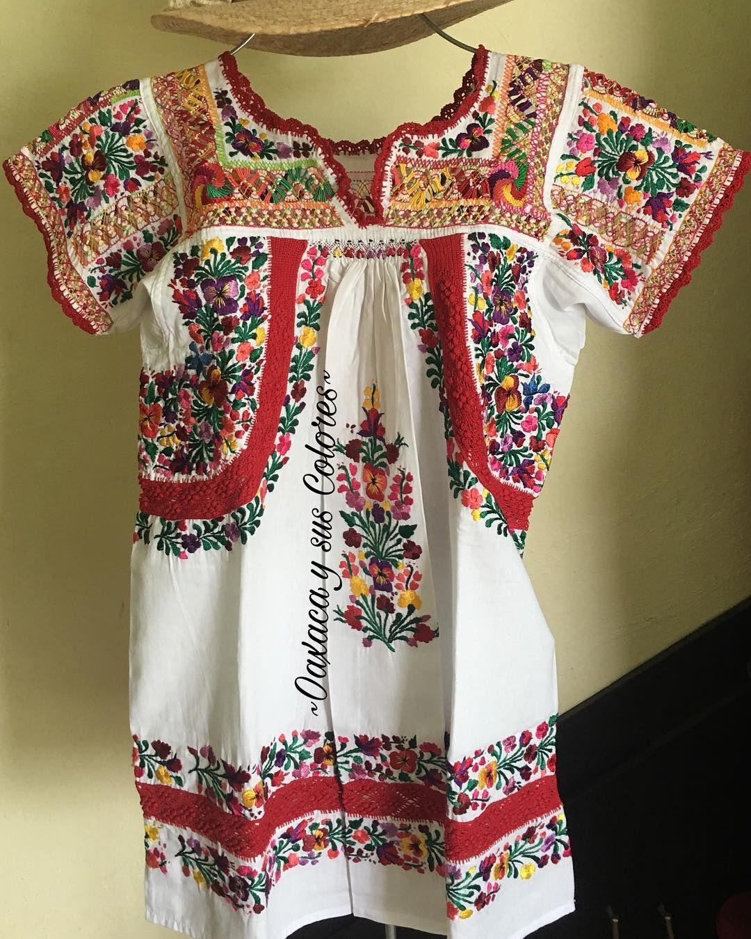 Hermoso blusón con bordado fino bb998ea8166