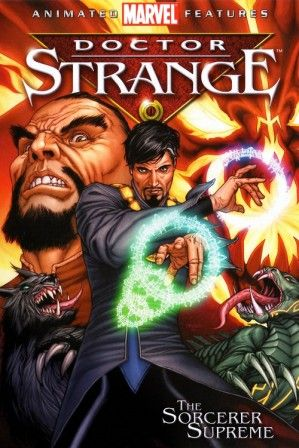 Poster Of Doctor Strange The Sorcerer Supreme 2007 In Hindi Dubbed