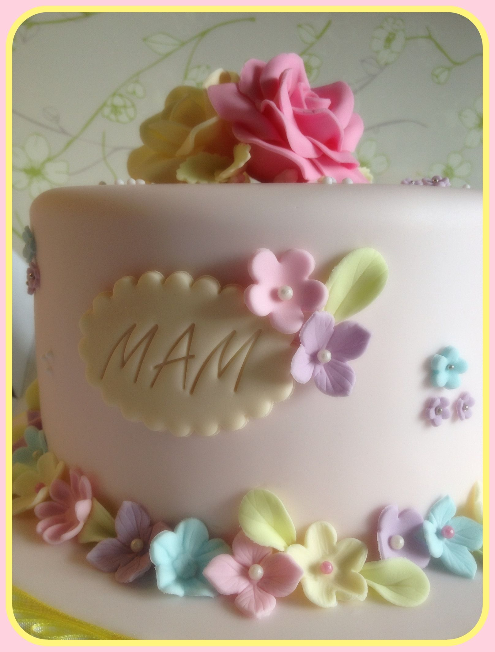 Fondant Cake Designs For 60th Birthday : 60th Birthday Cake ? Cakes, Cakes & More Cakes ...