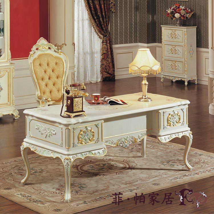 Talladas a mano muebles para el hogar europeo canopy escritorio - muebles de lujo italia diseño-imagen-Muebles Antiguos Otros-Identificación del producto:451246433-spanish.alibaba.com