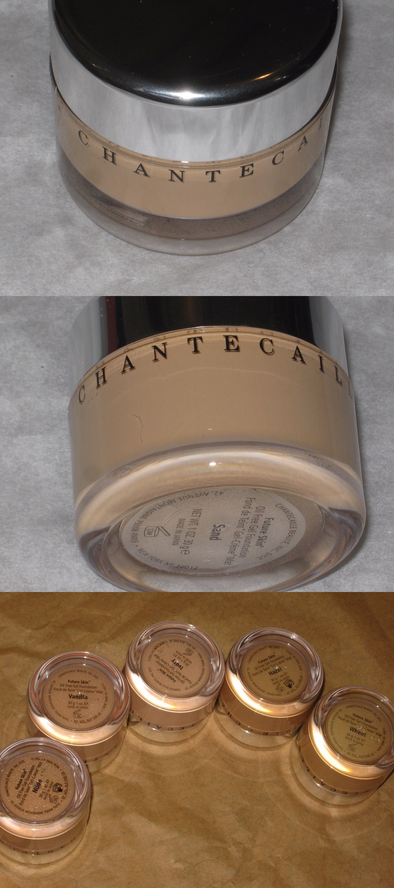Foundation: Chantecaille Sand Future Skin Foundation $76.00 New 1 Oz. / 30 Ml BUY IT NOW ONLY: $38.99