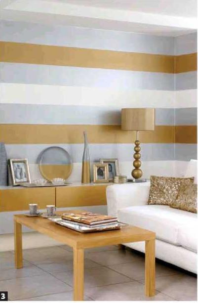 Pintar paredes a rayas deco pinterest pintar paredes rayas y pintar - Pintar pared a rayas horizontales ...