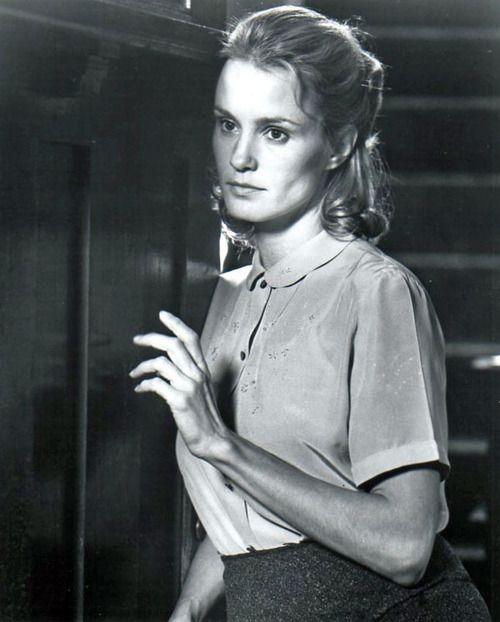 """Jessica Lange on the set of """"Frances"""""""