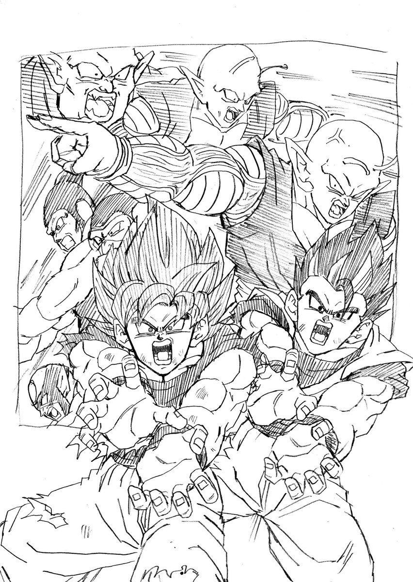 Goku vs Universe 2 and Gohan and Piccolo vs Universe 6 Namekians ...