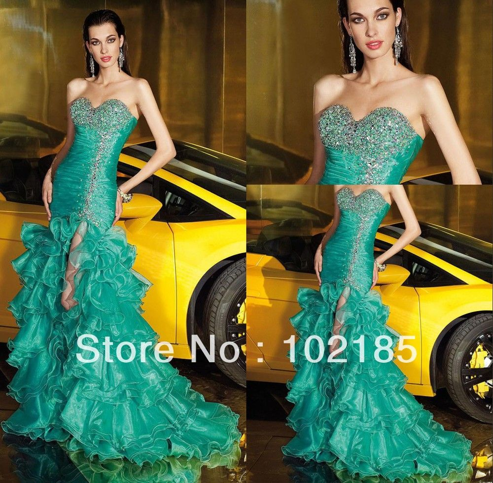 Emerald green prom dress  Prom Dresses  Prom Dresses  Pinterest  Prom Vans and Emeralds