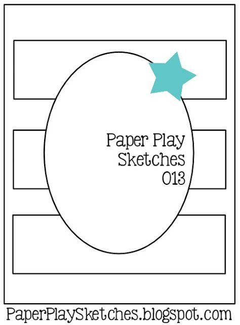 Paper Play Sketches: Paper Play Sketches #13 … #cardsketches