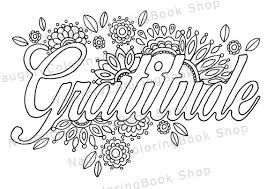 Image Result For Gratitude Coloring Pages Quote Coloring Pages