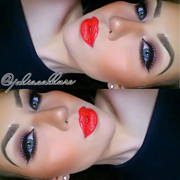National Kiss And Makeup Day: Mac Neon Orange Lipstick
