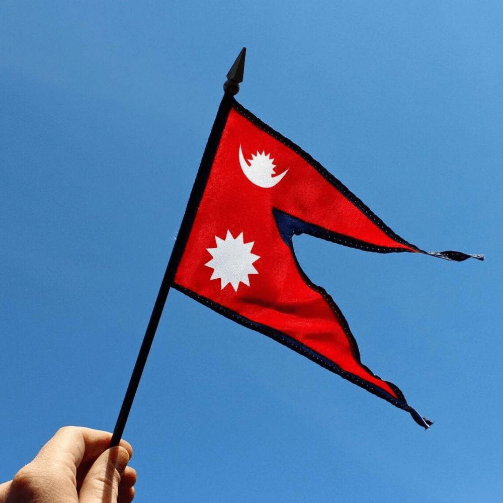 Mini Nepal Flag In 2021 Nepal Flag Nepal Flag