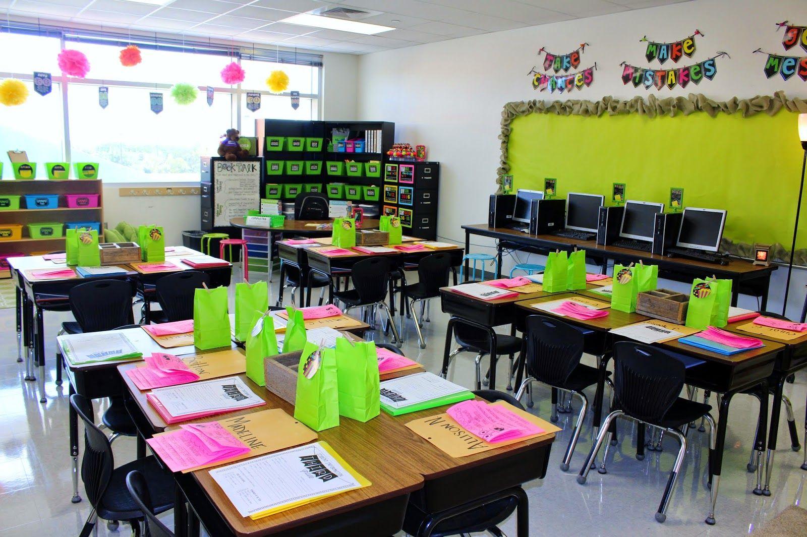 Tunstall S Teaching Tidbits School Tour Continued Classroom Design Kindergarten Classroom Decor Classroom Decor Middle