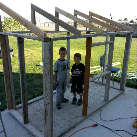How to Build a Fort For Your Kids   Build a fort, Backyard ...