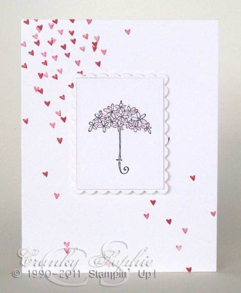 Bridal Shower Hearts by SophieLaFontaine - Cards and Paper Crafts at Splitcoaststampers
