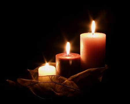 عکس شمع پروفایل و استوری و تصویر شمع تسلیت زیبا Romantic Candlelight Romantic Candles Candles