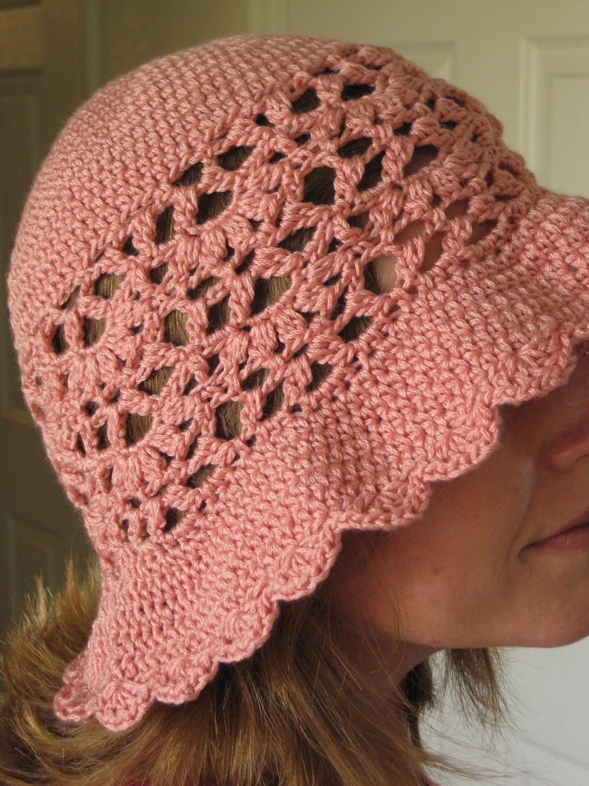 There\'ll Be Roses Sunhat By Cirsium Crochet - Free Crochet Pattern ...