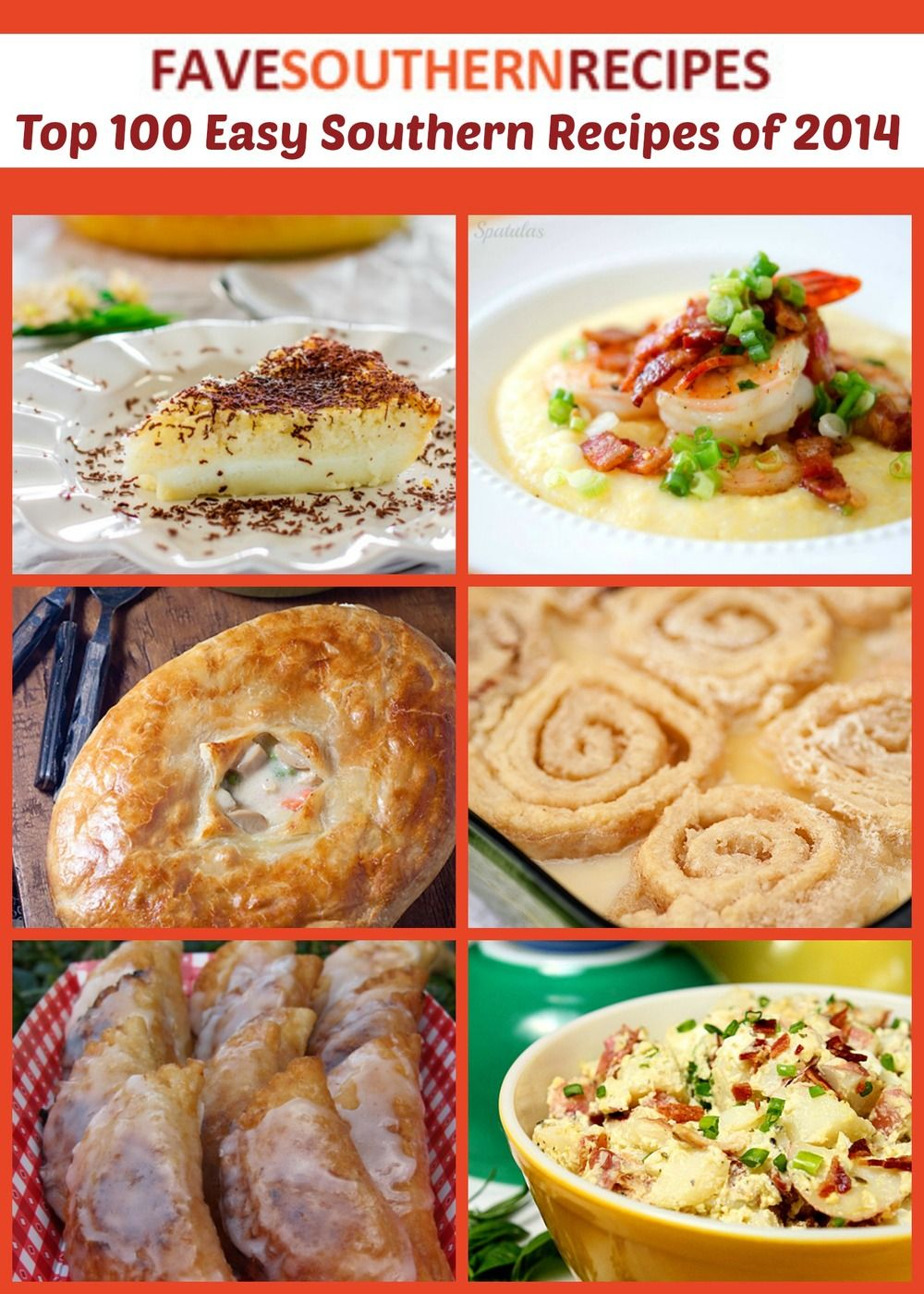 Top 100 easy southern recipes of 2014 southern easy and recipes top 100 easy southern recipes of 2014 forumfinder Gallery