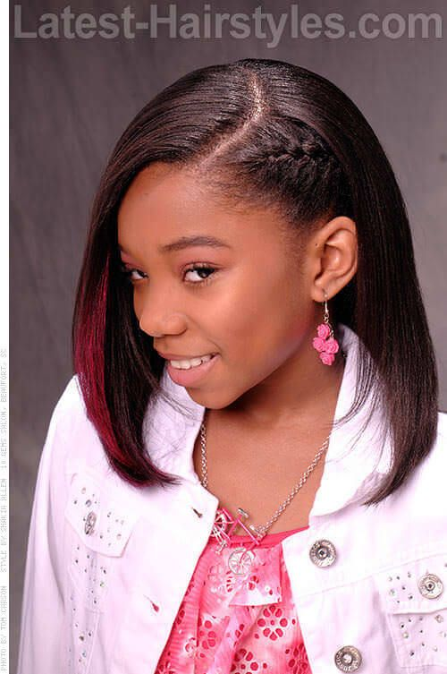 20 Cute Hairstyles For Black Teenage Girls Kenzie And Sway Hair