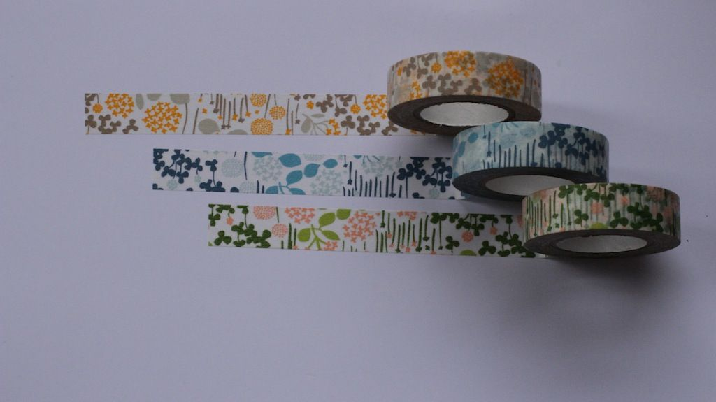 Japanese garden themed tape available in the what you sow shop