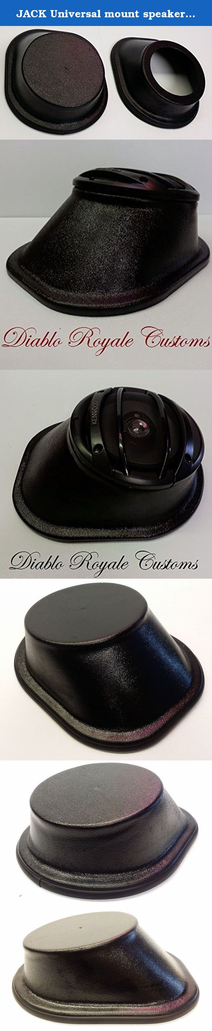 Jack Universal Mount Speaker pod Custom car Audio enclosureMADE in The USA