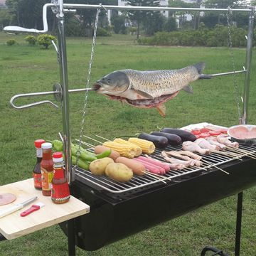 Auplex iron outdoor barbecue bbq machine charcoal outdoor stainless steel bbq table grill stove smoker oven bbq party NO.AU-CL - from Alibaba.com