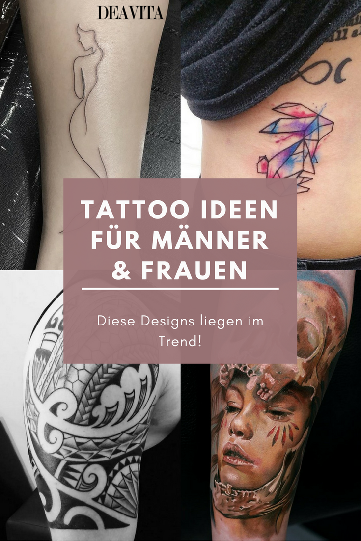 Wir Haben Die Beliebtesten Tattoo Ideen Fur Manner Und Frauen
