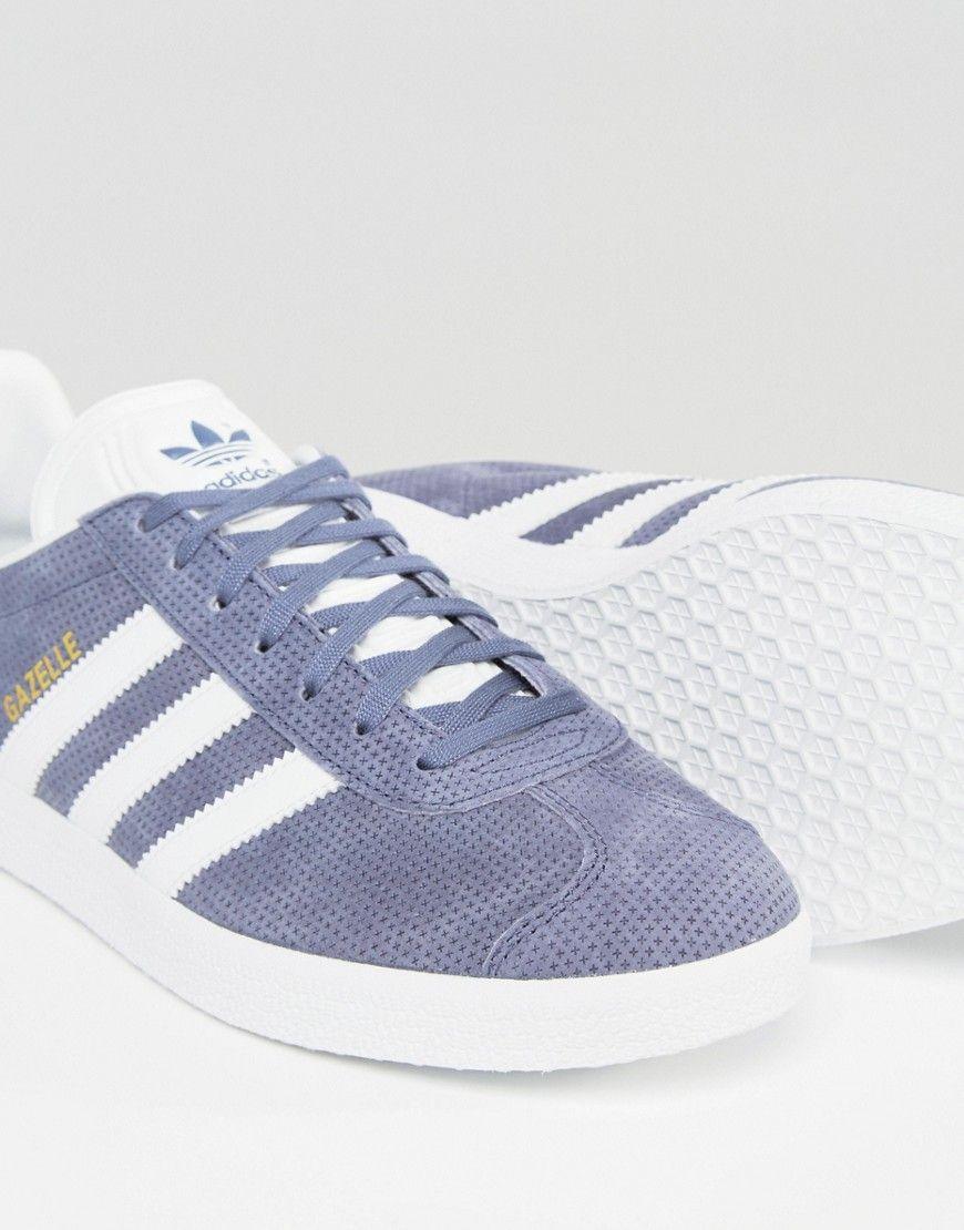 Adidas Originals - Gazelle - Baskets - Violet BB5492 at asos.com