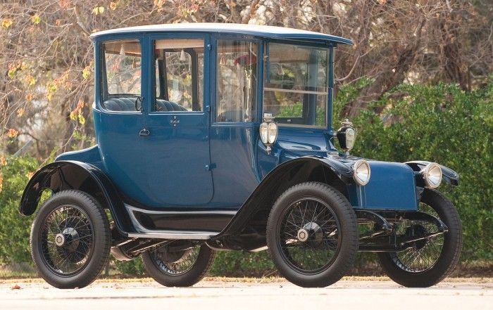 1916 Detroit Electric Brougham Electric Cars Classic Cars Cars