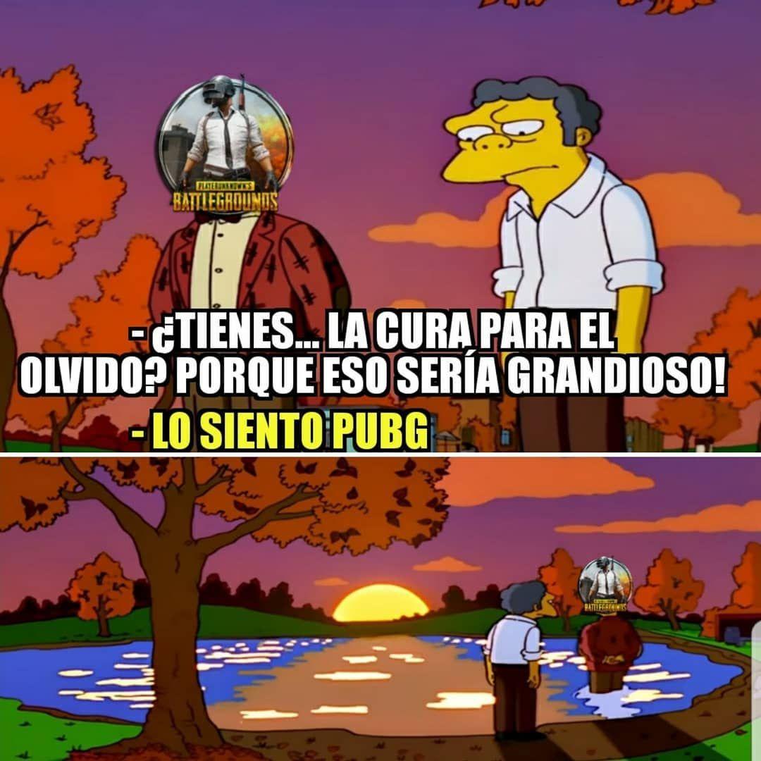Un Minuto De Silencio Pubg Simpsons Humor Fun Funny Memes Fortnite Fifa Csgo Assassinscreed Gow Gtav Ze Memes Memes Funny Faces Student Memes