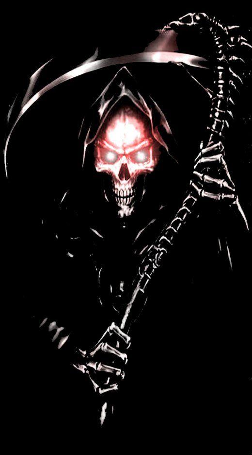 c83e78bef skulls | off the wall | Grim reaper, Grim reaper art, Death reaper