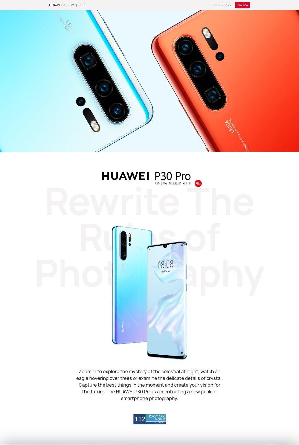 Original Global Huawei P30 Pro Smartphone 8gb Ram 256gb Android 9 0 Mobile Phone 40mp 32mp Leica 4 Camera 207 Leica Camera F Huawei