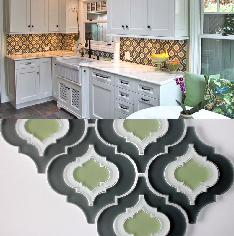 Moroccan Style Glass Tile From Edgewater Decor Fresh Decor