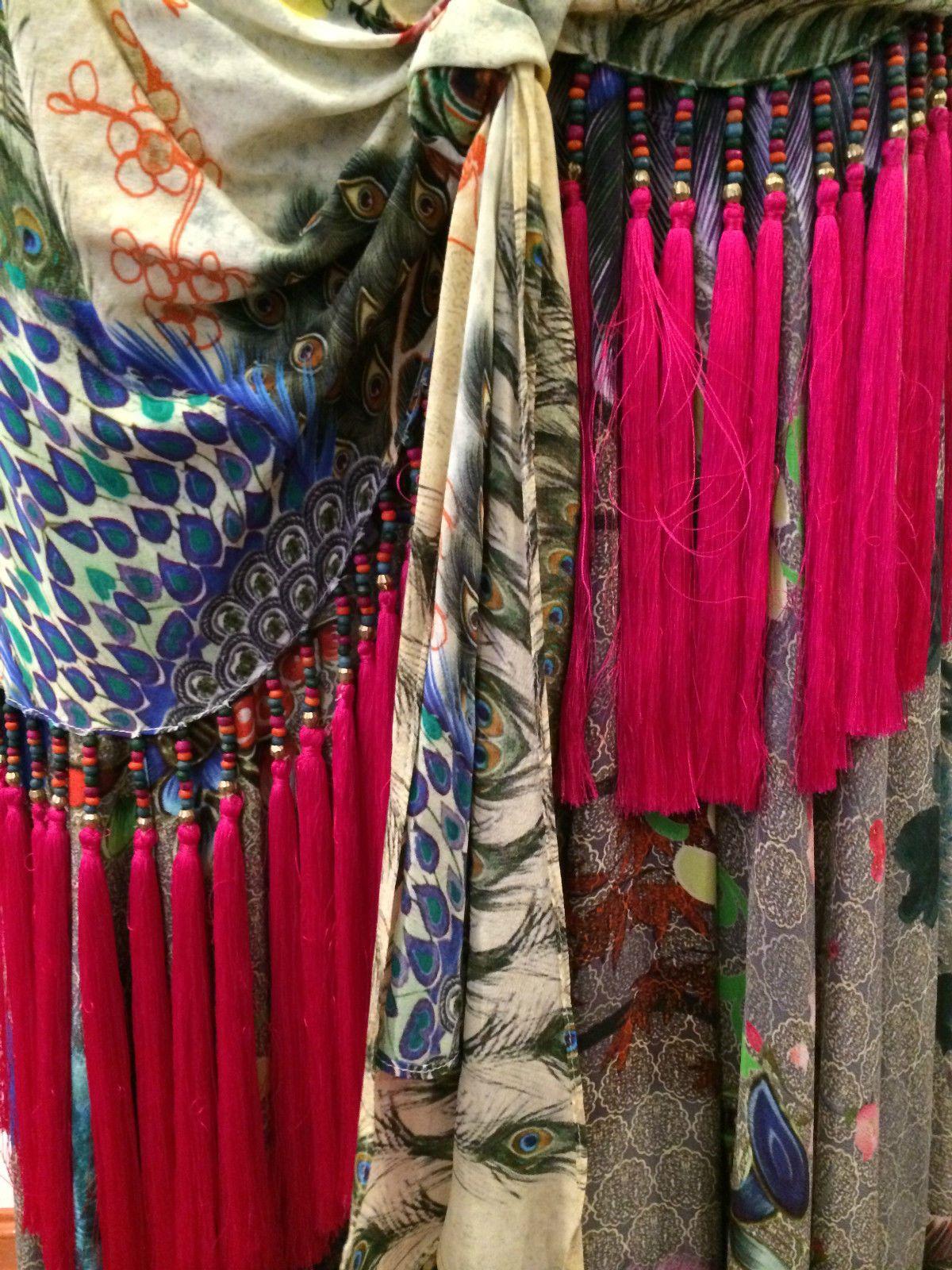 New Camilla Franks Silk Poetic License by A Lady Skirt Kaftan Layby | eBay
