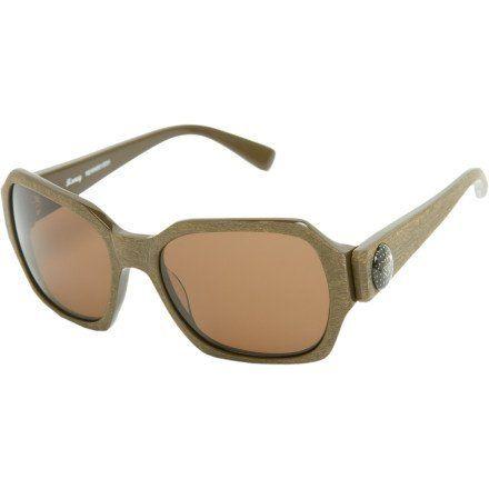 f3ff4952f6c1 Roxy Honey Sunglasses - Women s Wood Brown Brown