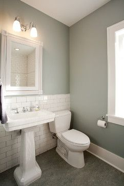 Marmoleum Flooring Bathroom And Love The Wall Color Too