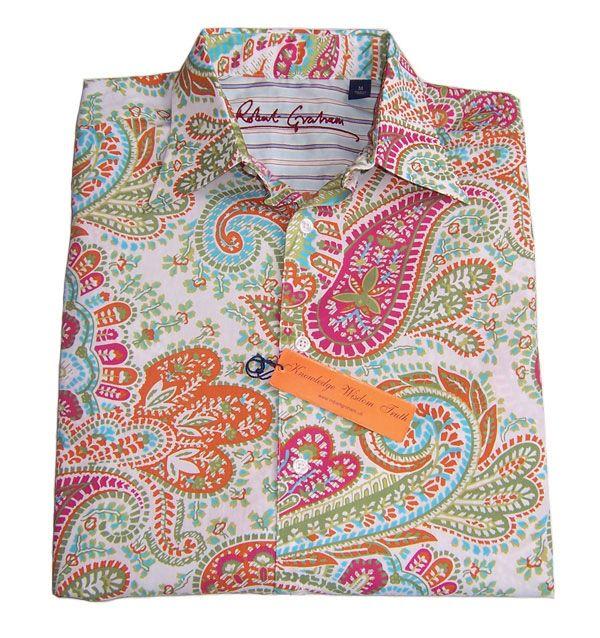 51d596e8 Robert Graham Mens Paisley Long sleeve Shirt Overstock | Paisley Is ...