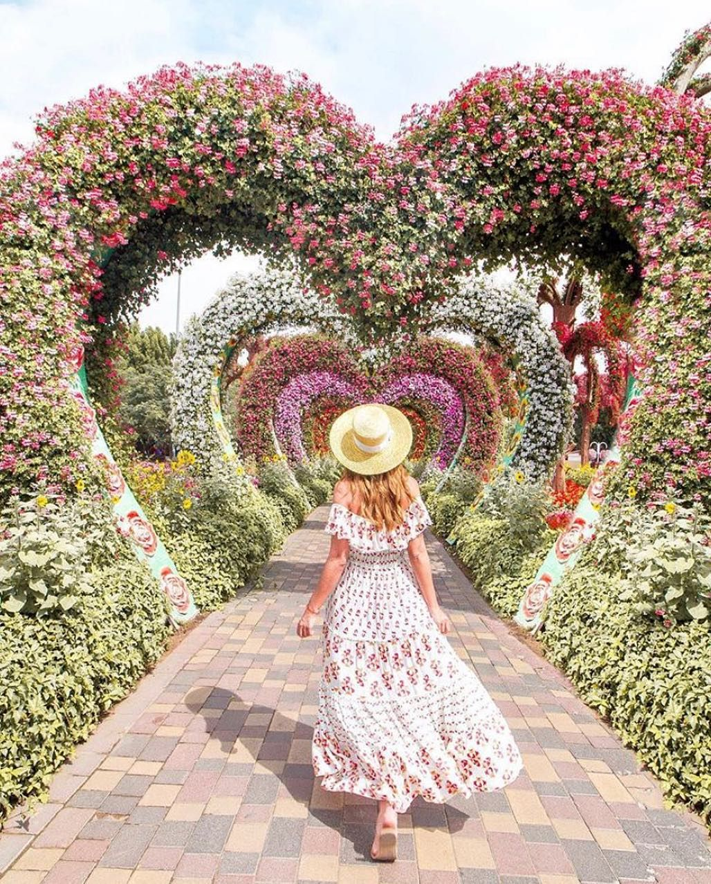Dubai Miracle Garden Instagram travel inspiration
