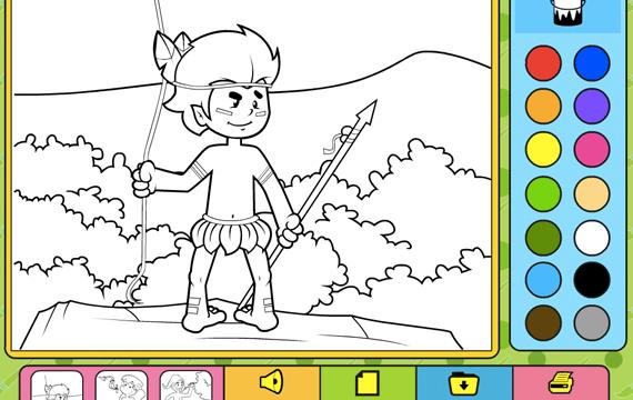 Jogo Para Colorir Folclore Jogos Para Colorir Online Gratis Escolha O Tema Que Voce Mais Gosta E Solte A Sua Imagin Jogos Para Colorir Colorir Online Colorir