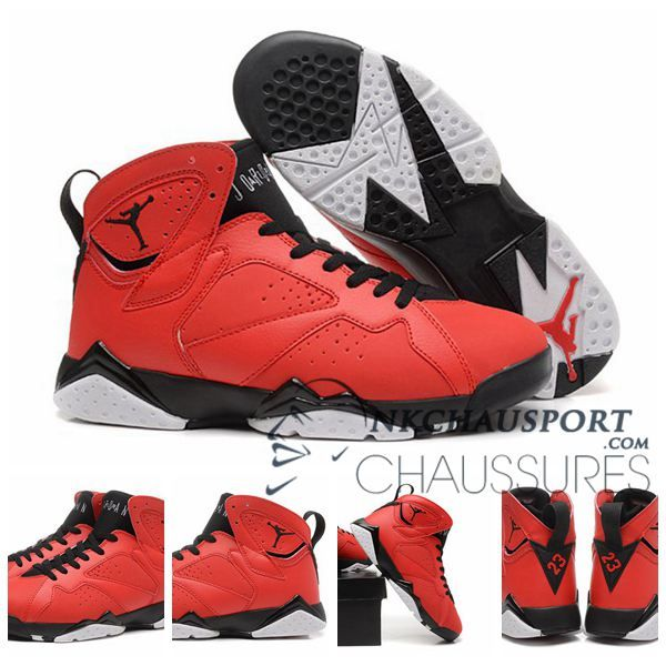 Nike Air Jordan 7 Classique Chaussure De Basket Homme Rouge 1