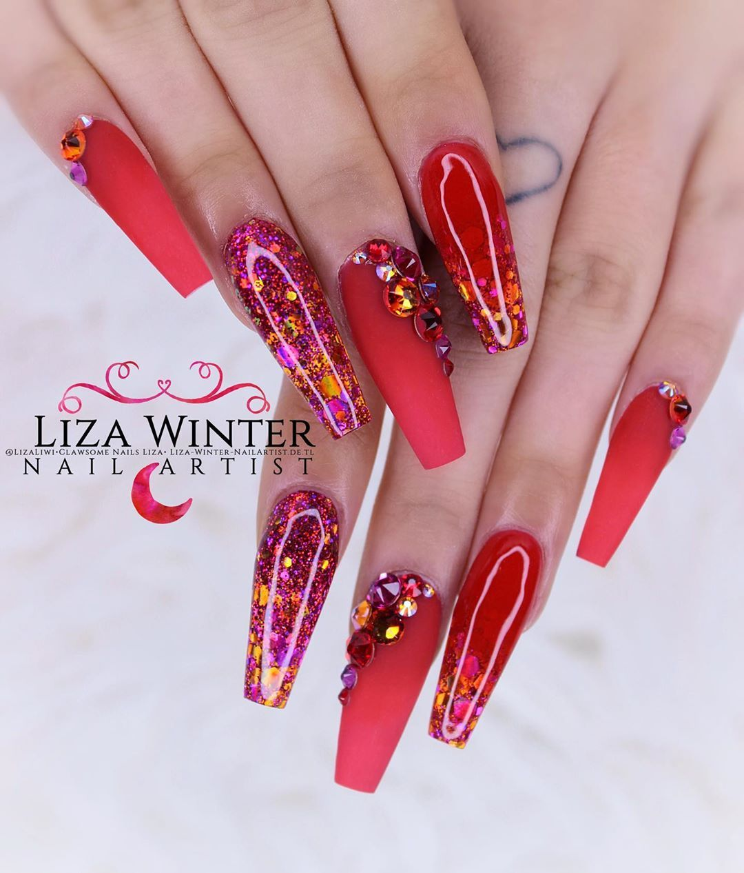 #nails #nailart #nailtech #nailporn #nailswag #instagood #swarovski