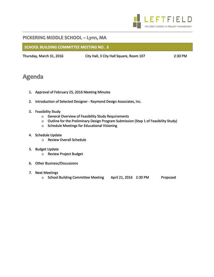 Lynn School Watch Pickering Meeting On Proposal  Lynn School