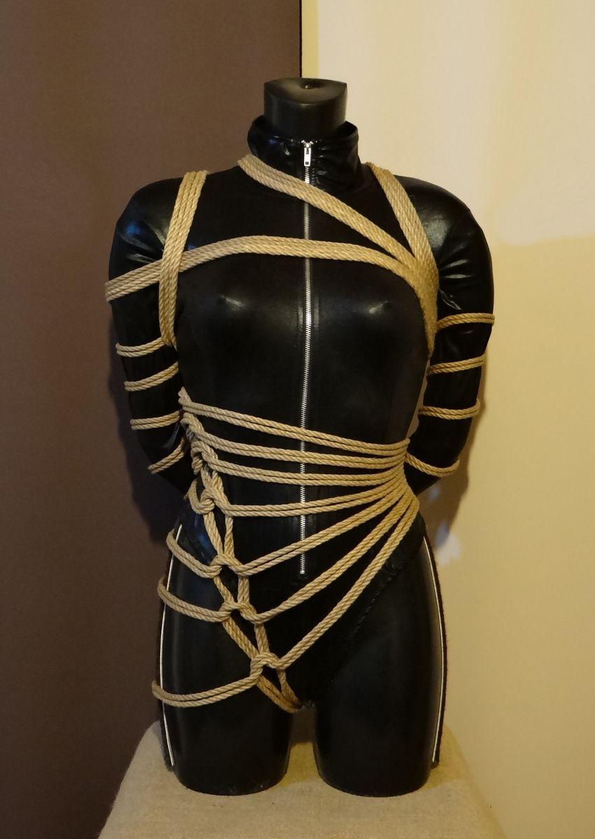 Rope dress bondage