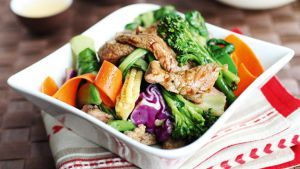We found a delicious Stir- Fry recipe on the Channel 4 Website. With its nice mix of vegetables, it will help you get your five-a-day! Serves 2-4 Ingredients 250g Beef Sirloin, fat removed and meat…